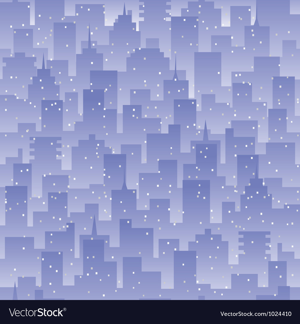 Seamless city background vector | Price: 1 Credit (USD $1)