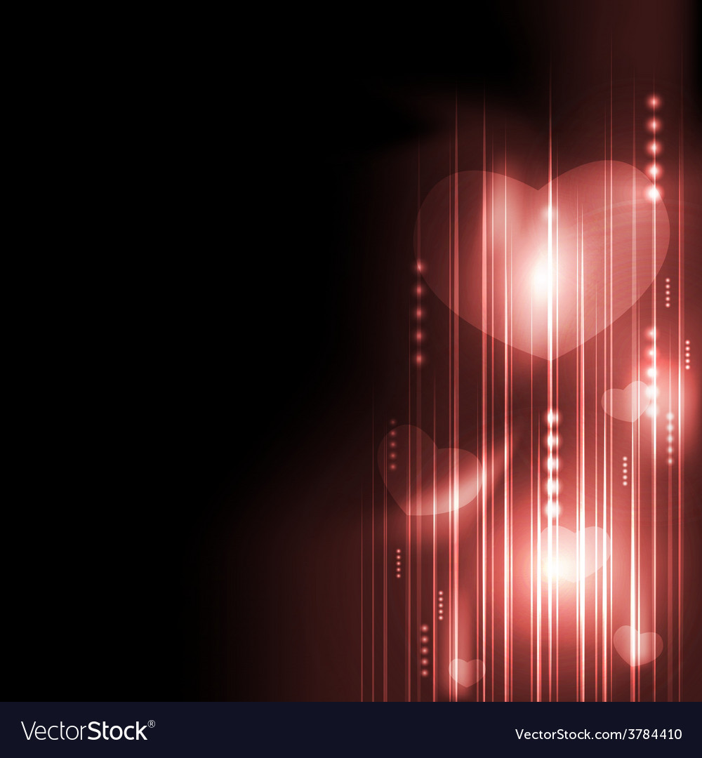 Valentines day romantic heart with technology vector | Price: 1 Credit (USD $1)