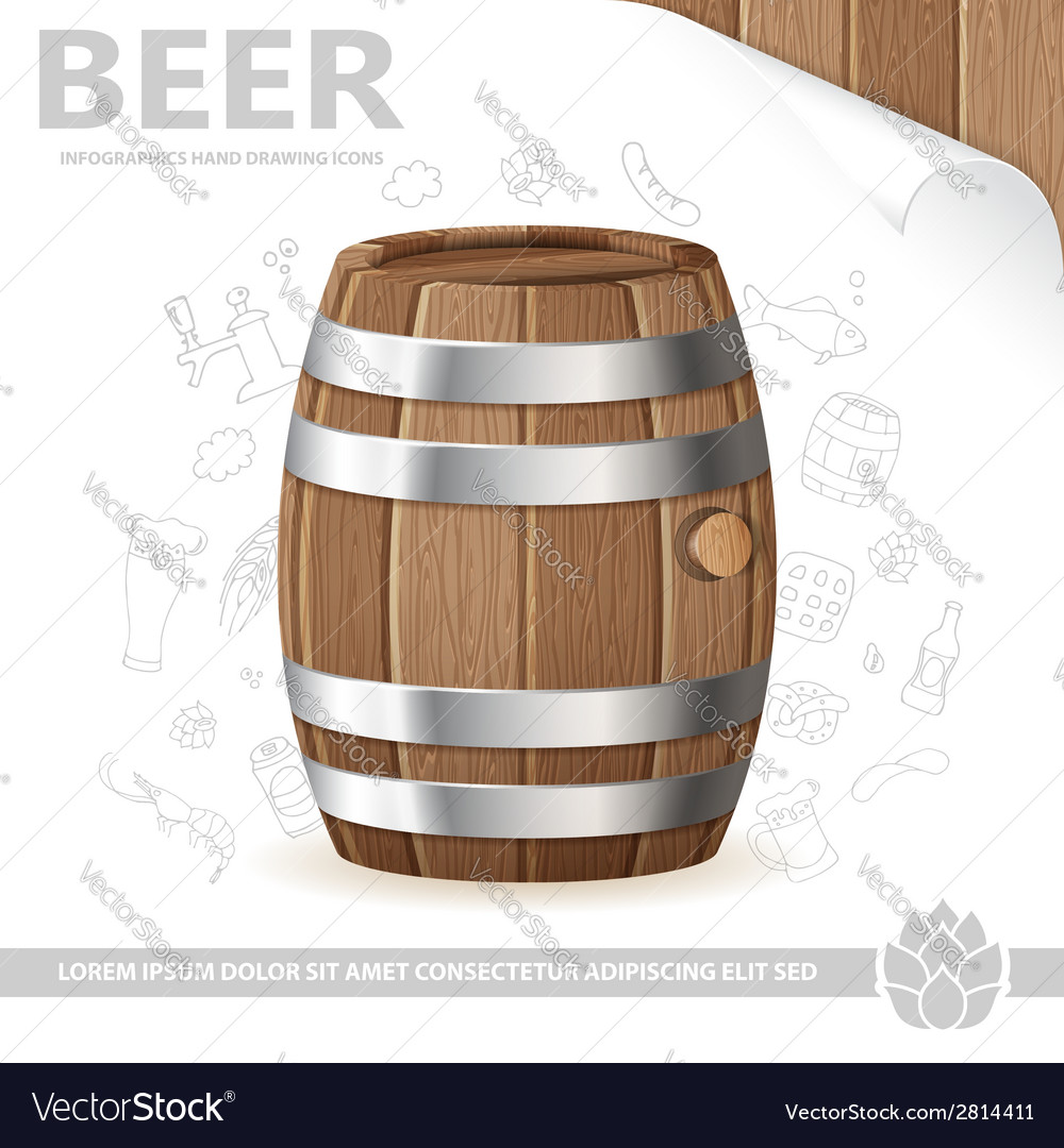 Beer poster vector | Price: 1 Credit (USD $1)