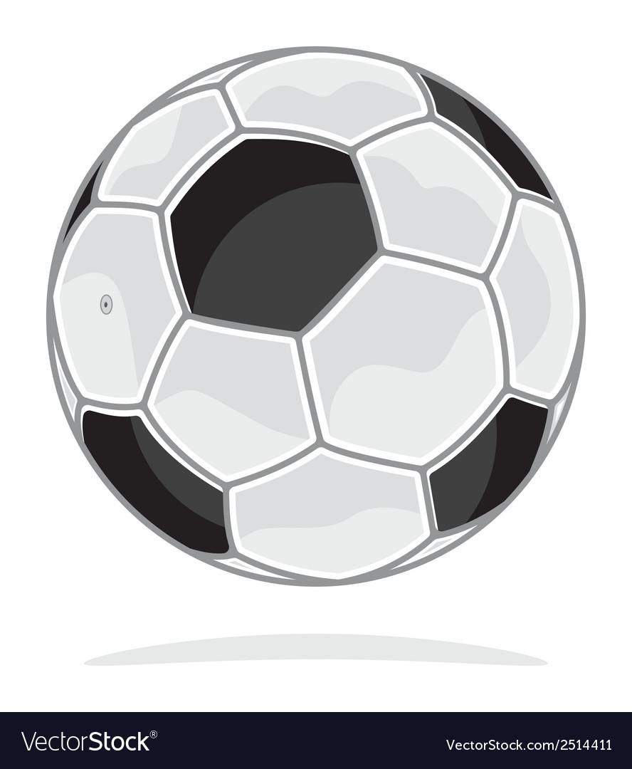 Fudbalska lopta vector | Price: 1 Credit (USD $1)