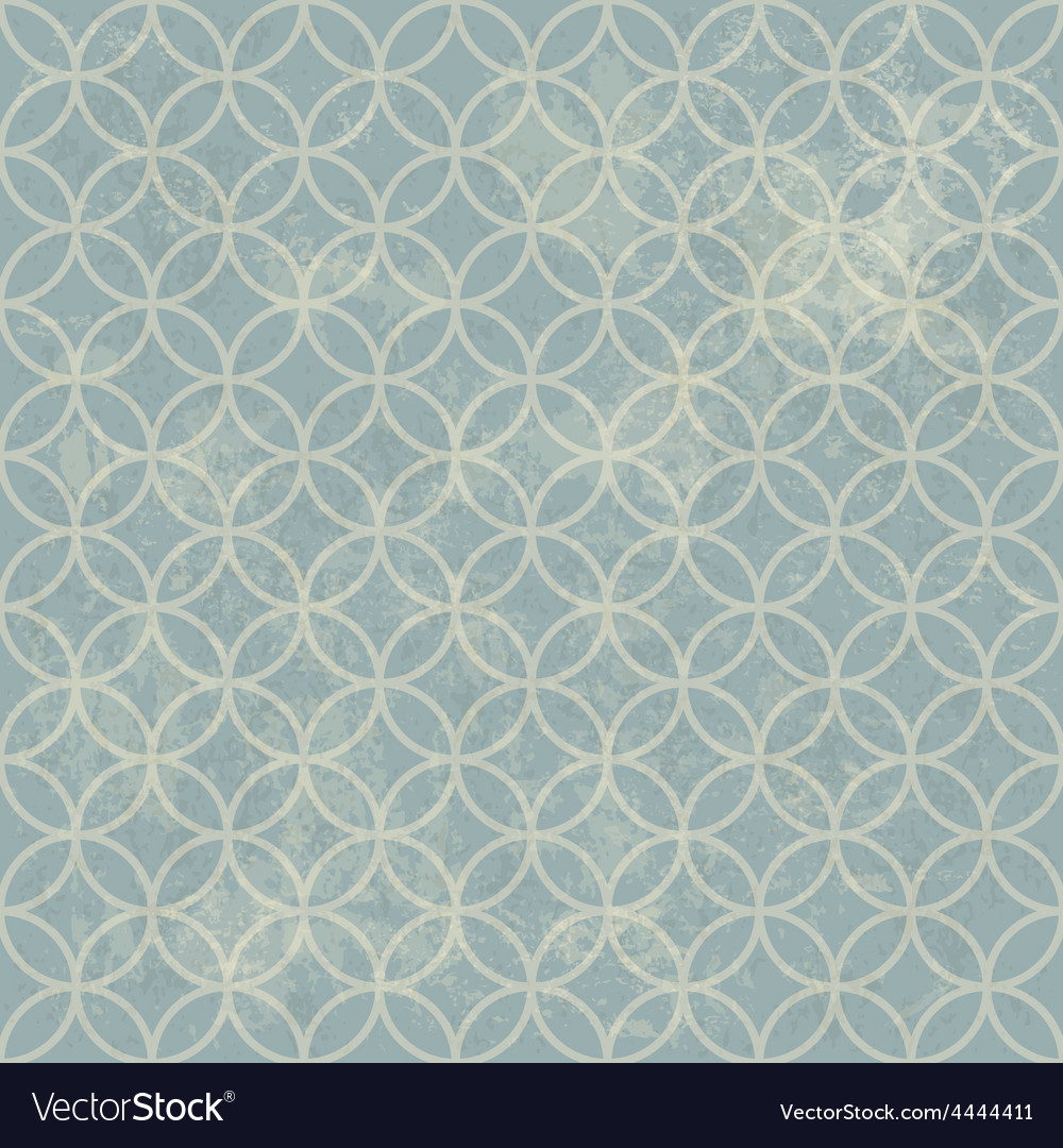 Grunge seamless vintage pattern geometric vector | Price: 1 Credit (USD $1)