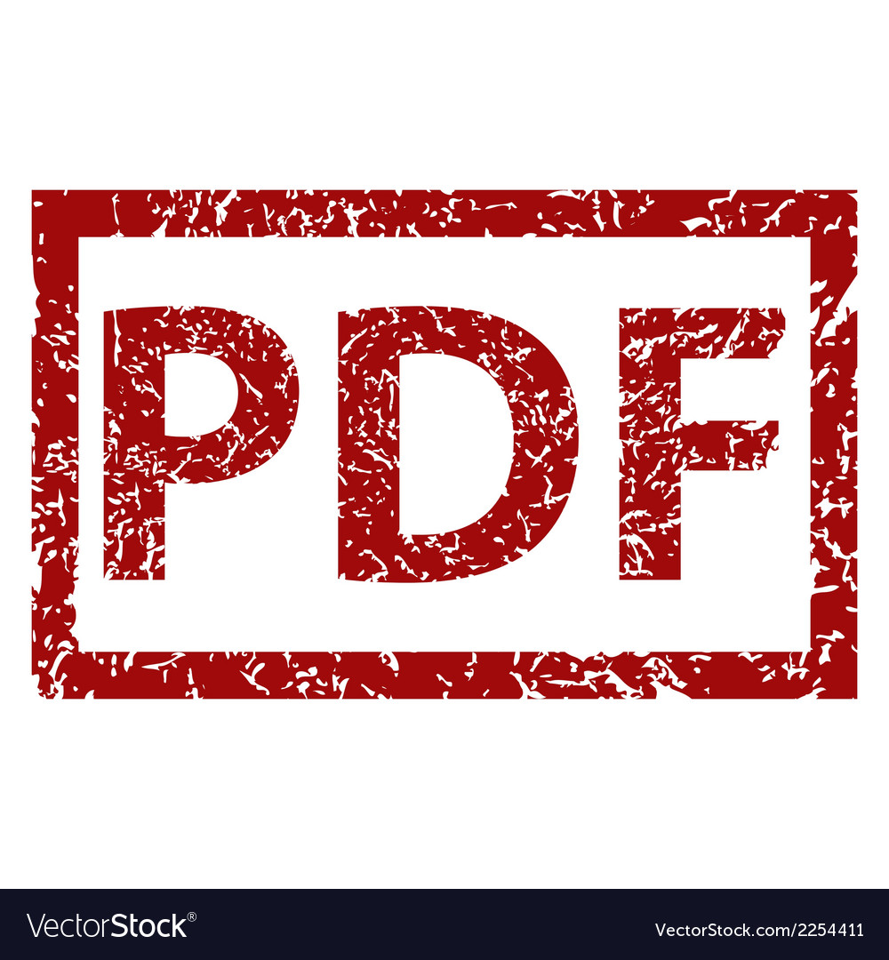 Pdf grunge rubber stamp vector | Price: 1 Credit (USD $1)