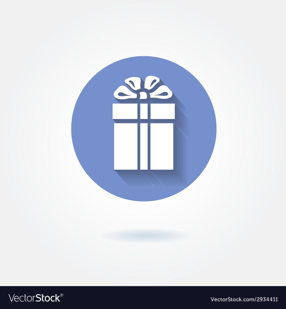 Present icon vector | Price: 1 Credit (USD $1)
