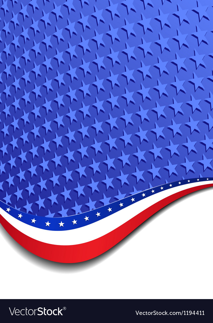 Stars and stripes portrait vector   Price: 1 Credit (USD $1)
