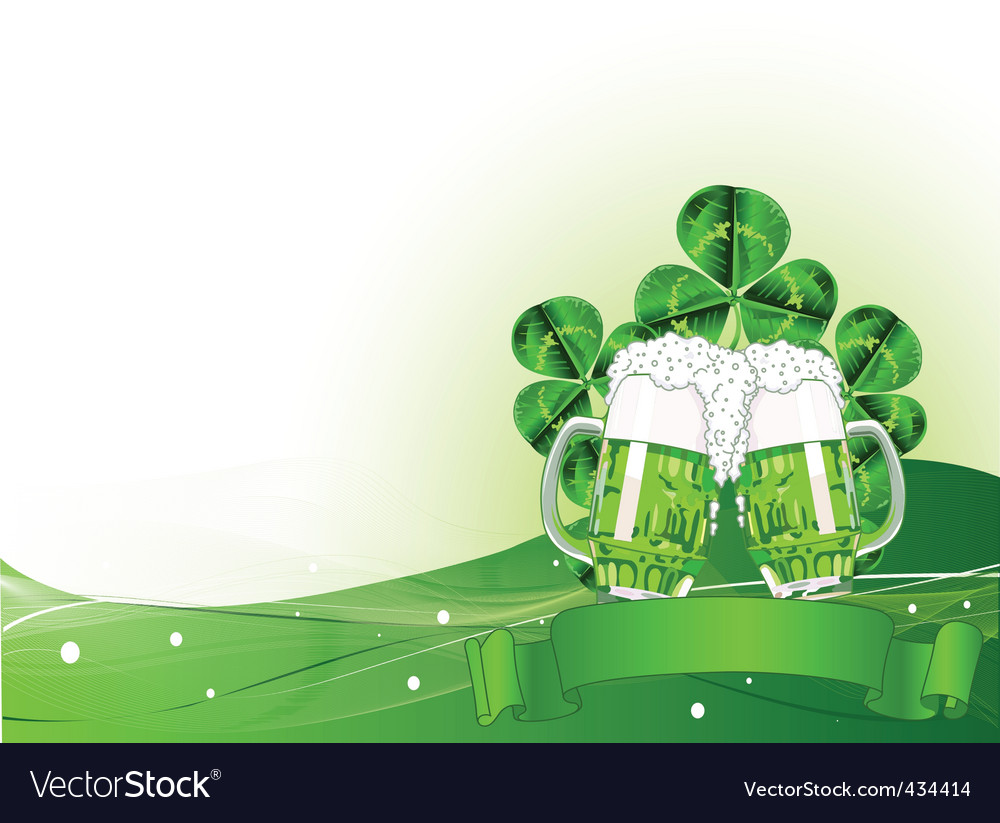 St patrick's day celebration vector | Price: 1 Credit (USD $1)