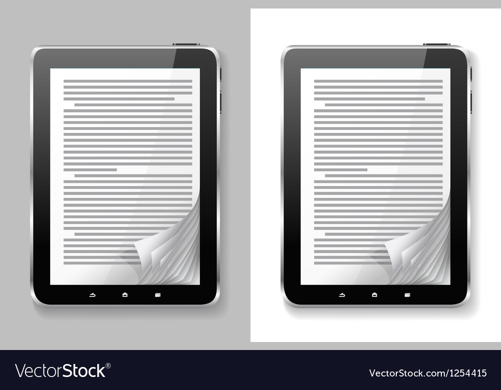 E book set vector | Price: 1 Credit (USD $1)