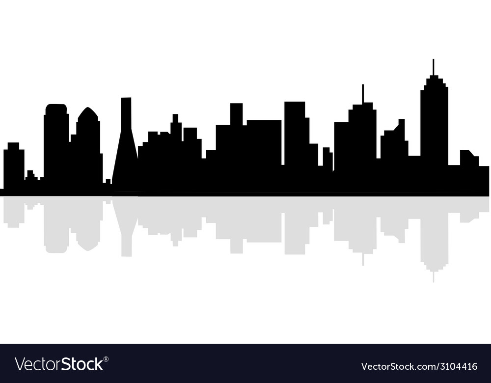 Dallas skyline vector | Price: 1 Credit (USD $1)