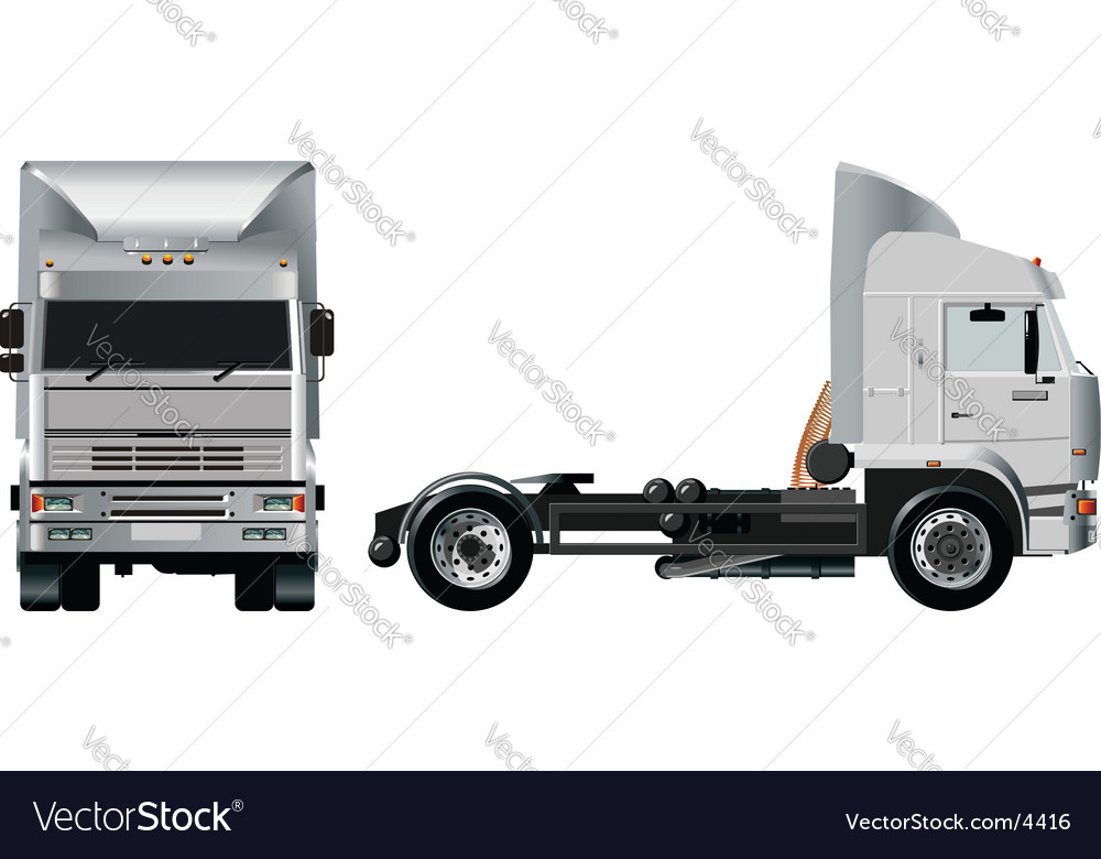 Heavy truck vector | Price: 5 Credit (USD $5)