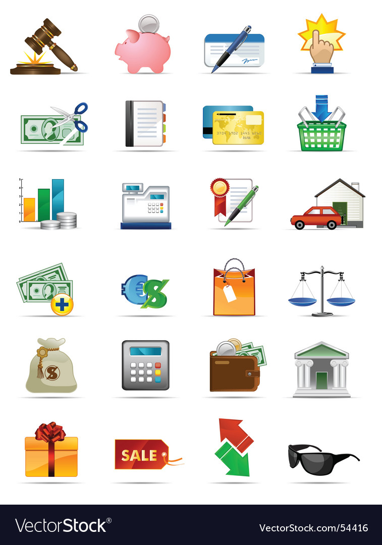 Icons series vector | Price: 3 Credit (USD $3)