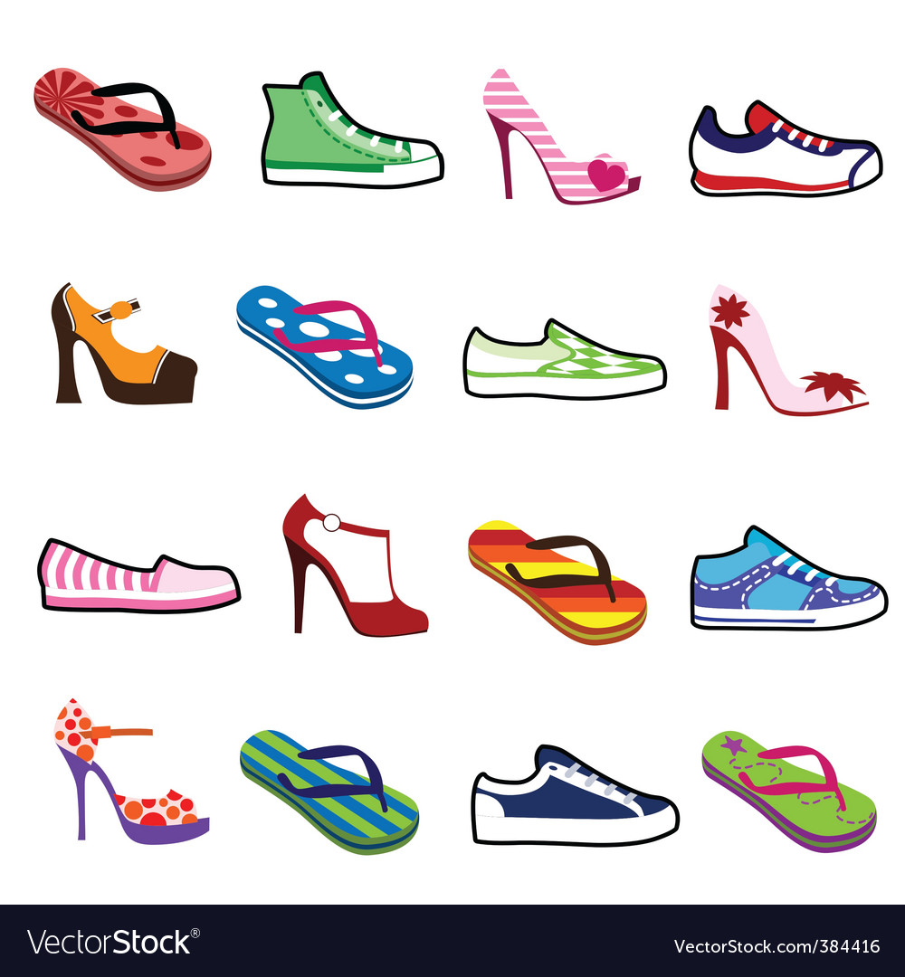 Shoes for man and woman vector   Price: 1 Credit (USD $1)
