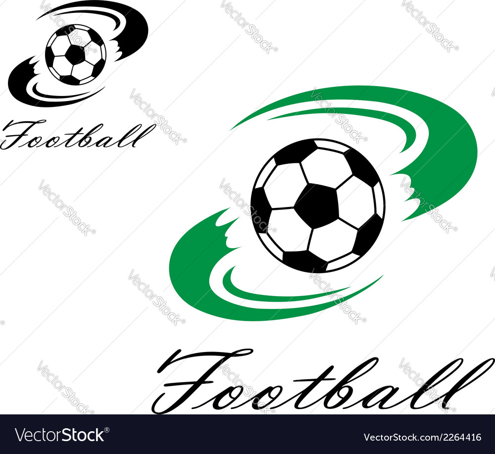 Soccer or football symbol vector | Price: 1 Credit (USD $1)