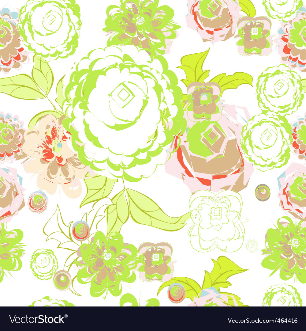 Summer seamless background vector | Price: 1 Credit (USD $1)