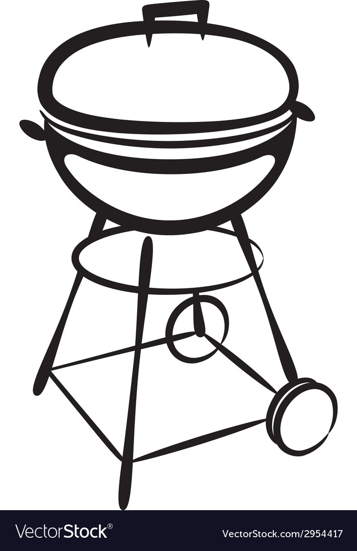 Grill vector | Price: 1 Credit (USD $1)