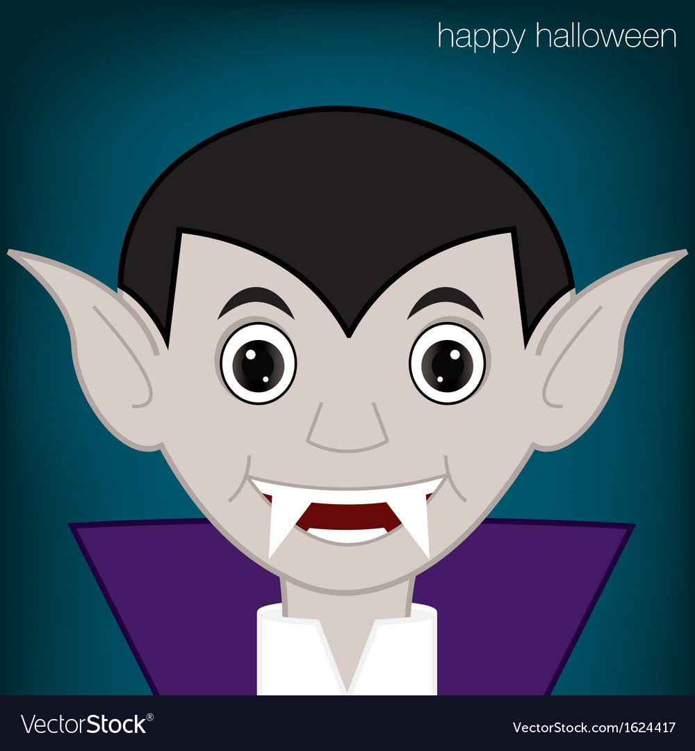 Halloween vampire vector | Price: 1 Credit (USD $1)