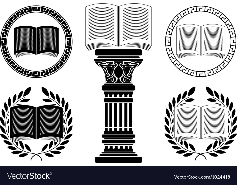 Education stencil second variant vector | Price: 1 Credit (USD $1)