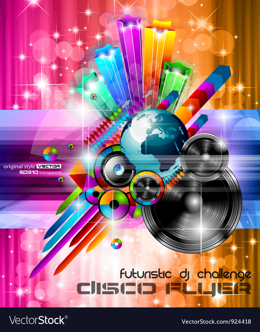 Music club posters vector   Price: 3 Credit (USD $3)