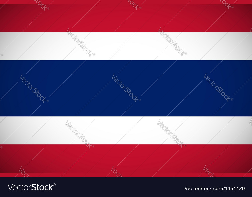 National flag of thailand vector   Price: 1 Credit (USD $1)