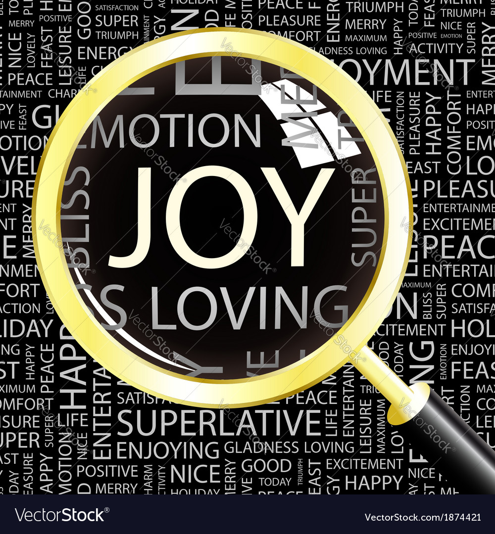 Joy vector | Price: 1 Credit (USD $1)