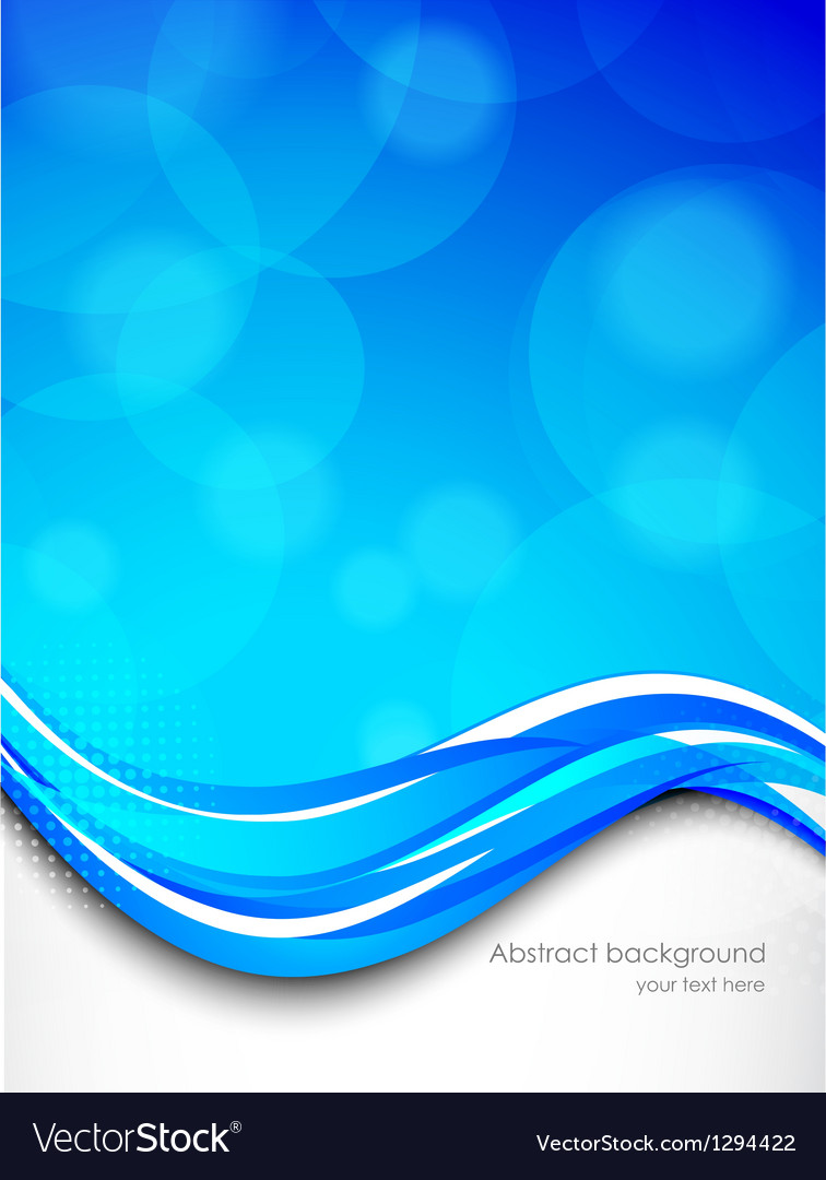 Abstract wavy background vector | Price: 1 Credit (USD $1)