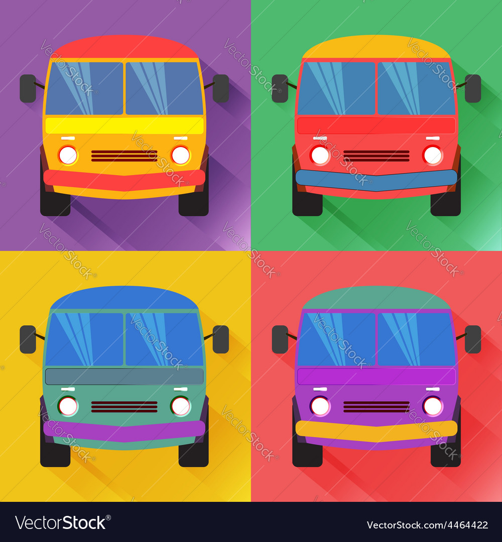 Bus2 vector | Price: 1 Credit (USD $1)