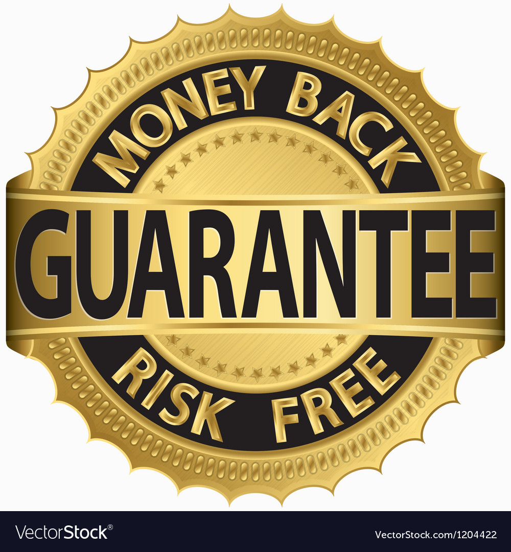 Money back guarantee vector | Price: 1 Credit (USD $1)