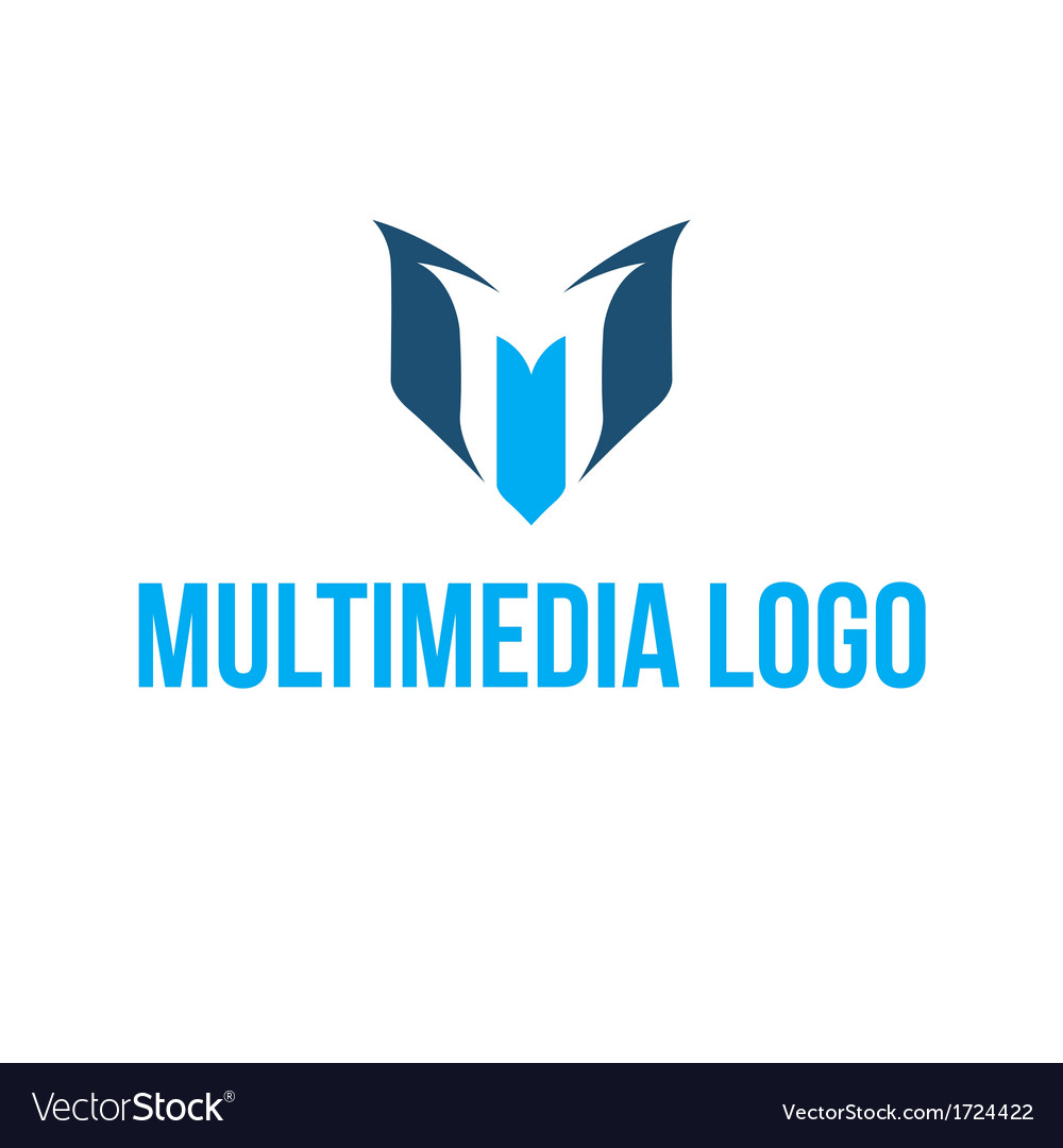 Multimedia logo vector | Price: 1 Credit (USD $1)