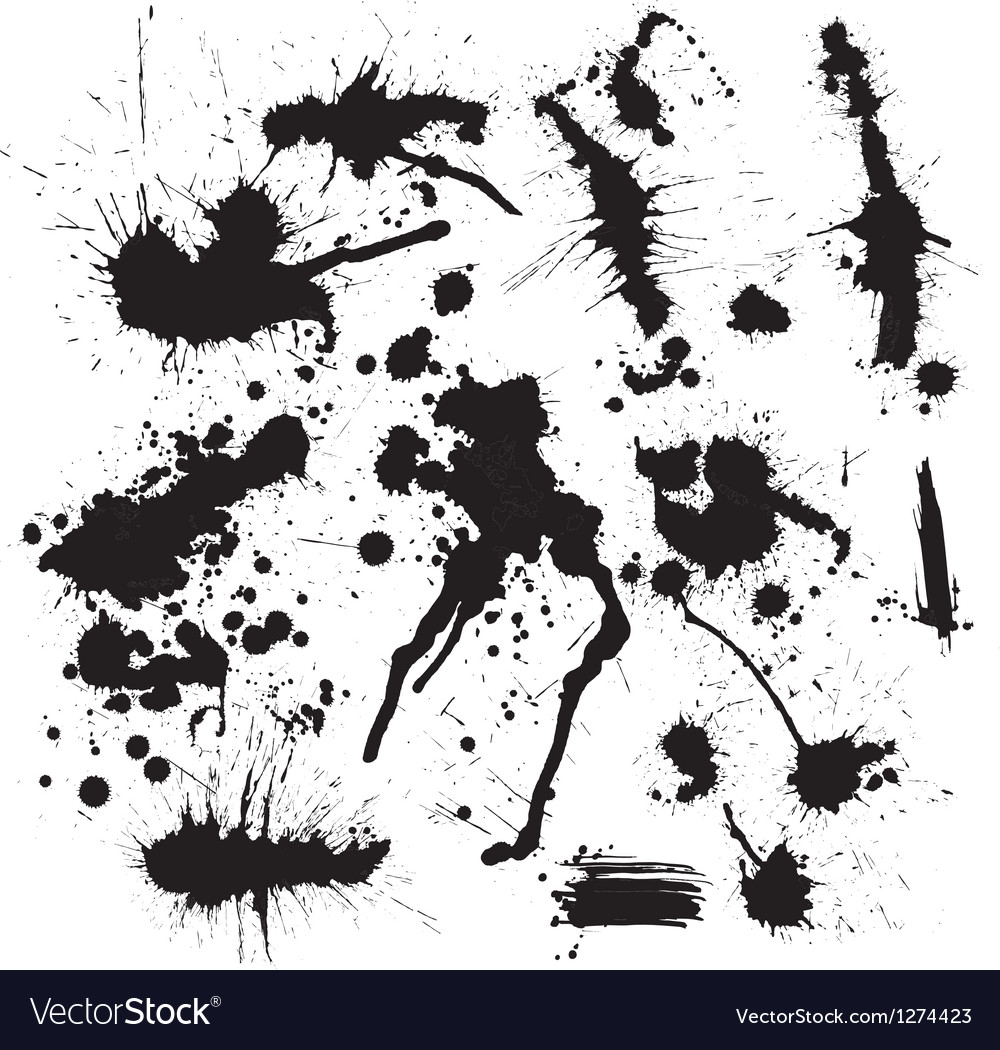 Ink spot vector | Price: 1 Credit (USD $1)