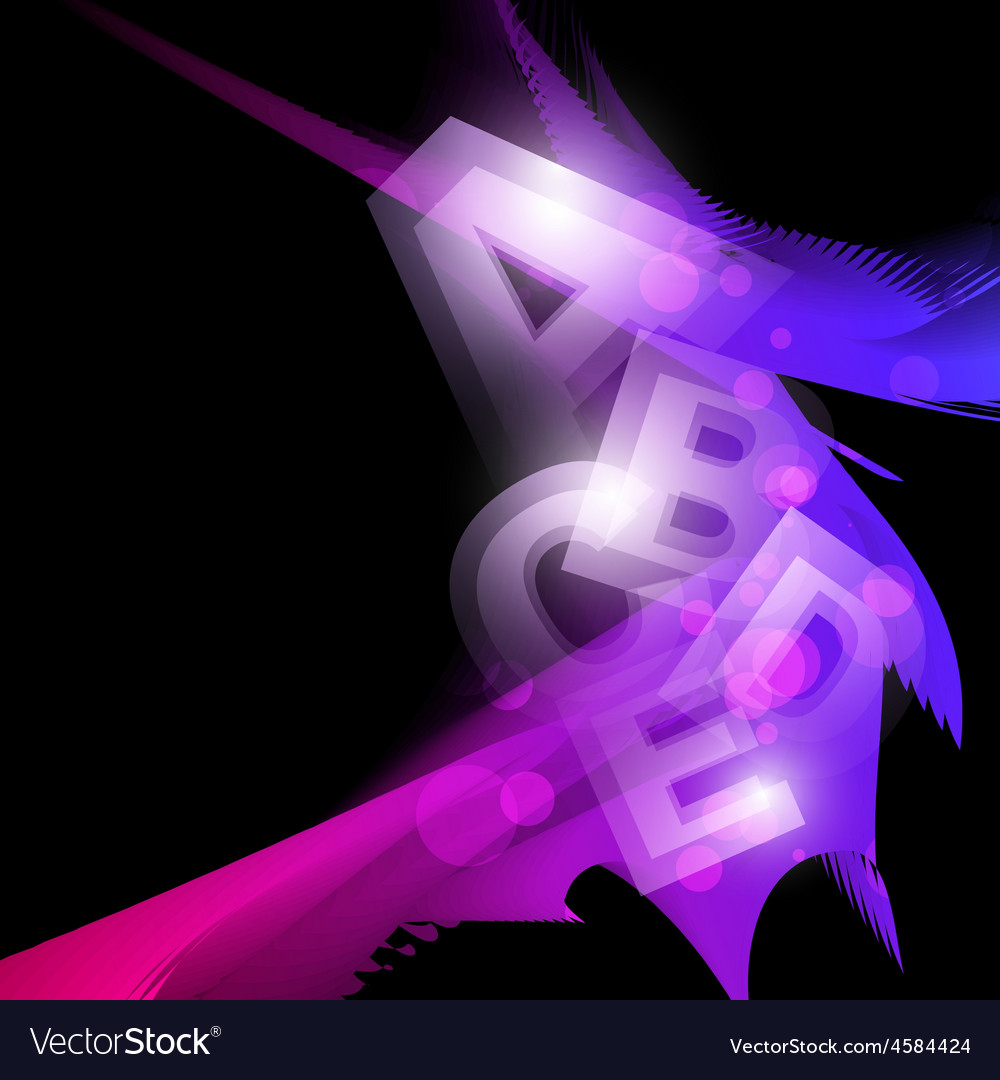 Abstract glowing shape artwork vector | Price: 1 Credit (USD $1)