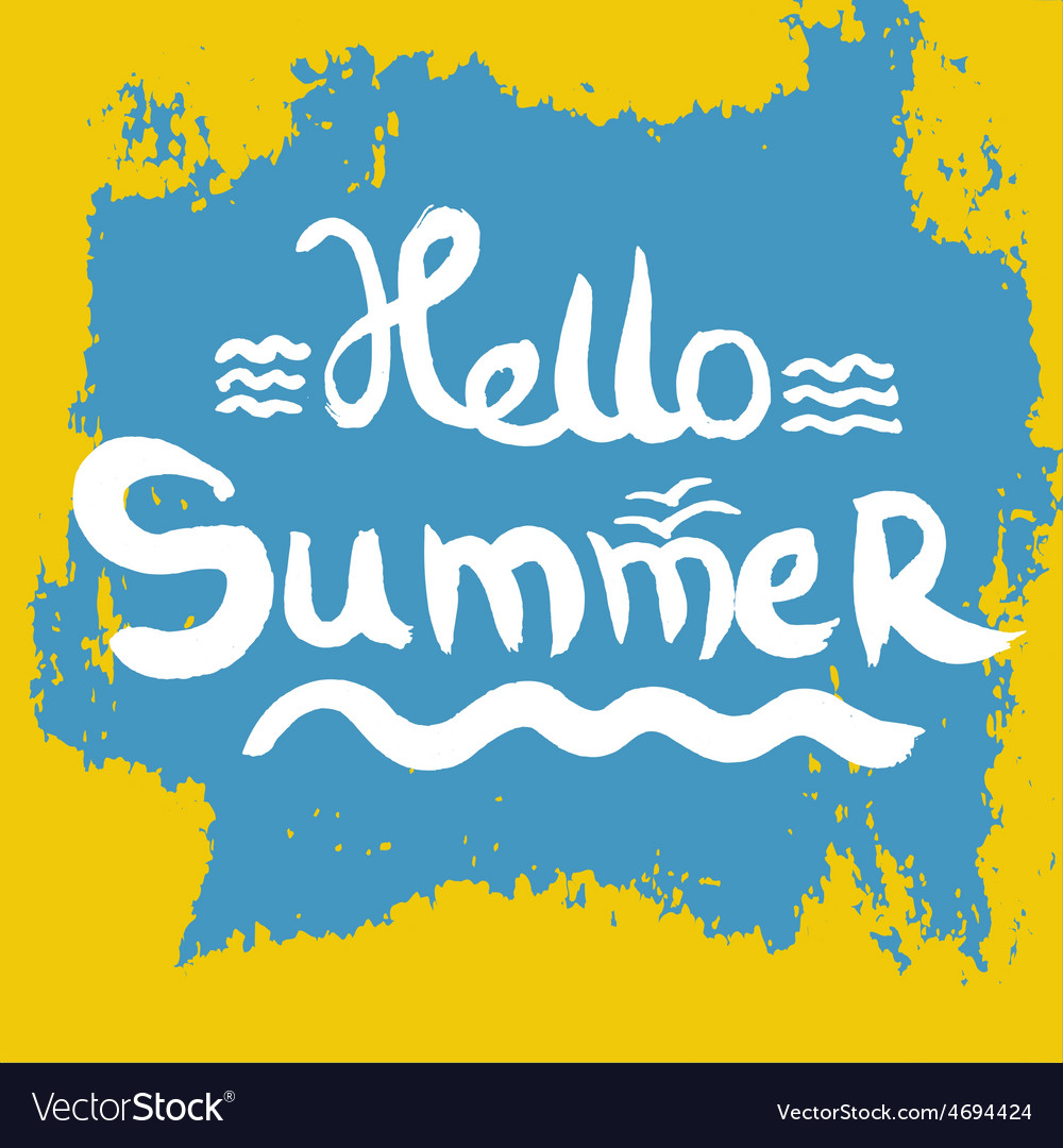 Creative graphic for summer watercolor vector   Price: 1 Credit (USD $1)