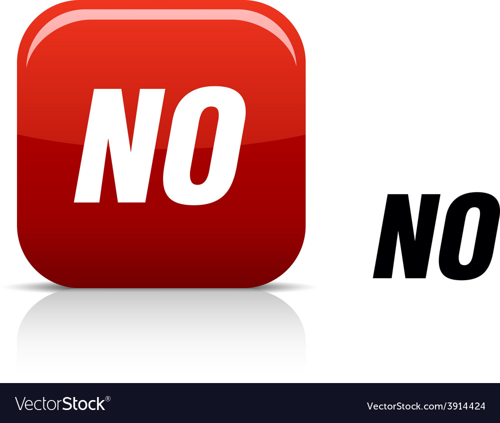 No icon vector | Price: 1 Credit (USD $1)