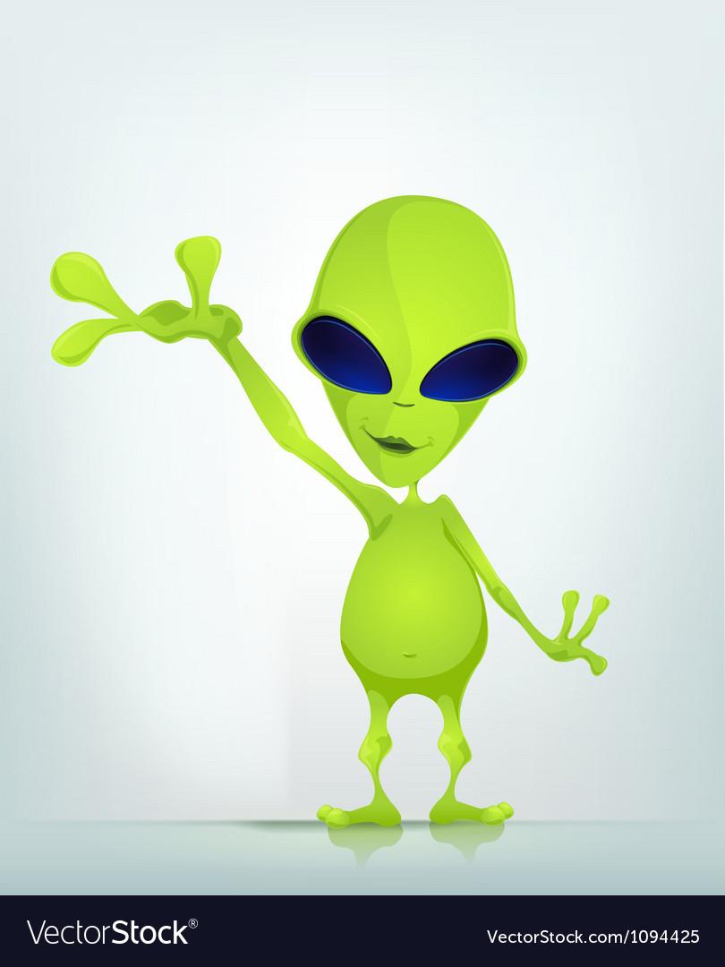 Cartoon character alien 037 cs5 vector | Price: 1 Credit (USD $1)