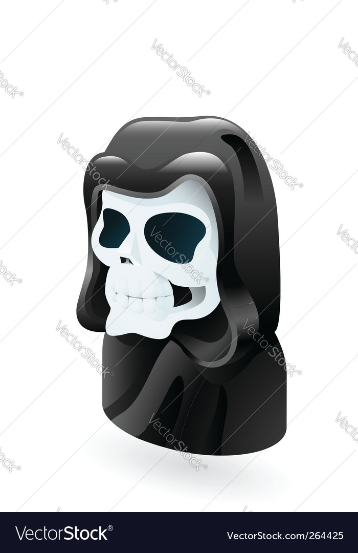 Death illustration vector | Price: 1 Credit (USD $1)