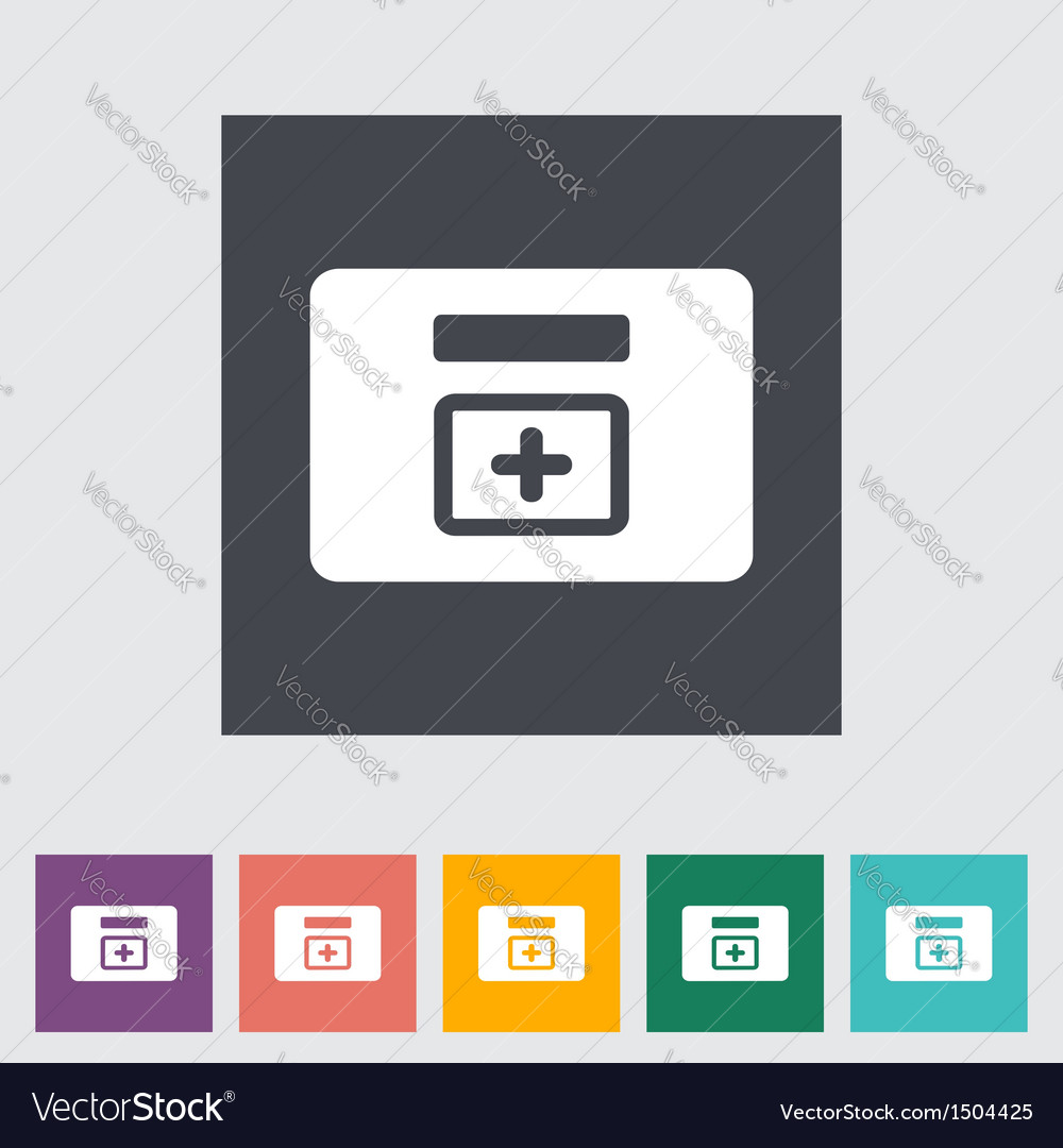 First aid kits vector | Price: 1 Credit (USD $1)