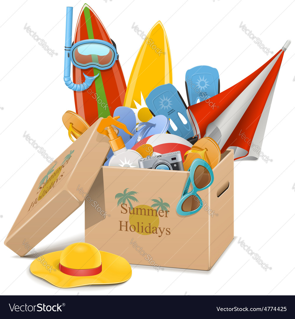 Summer holidays concept vector   Price: 5 Credit (USD $5)