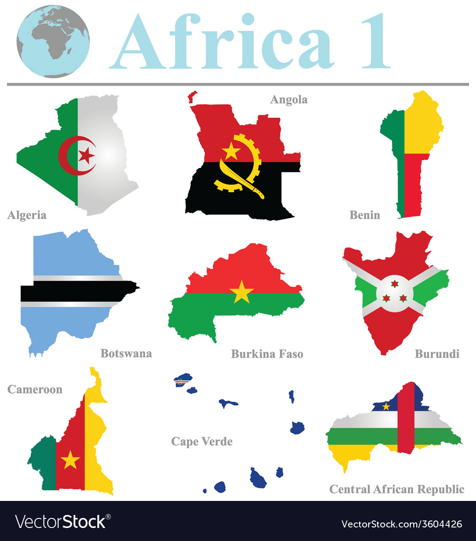 Africa collection 1 vector | Price: 1 Credit (USD $1)
