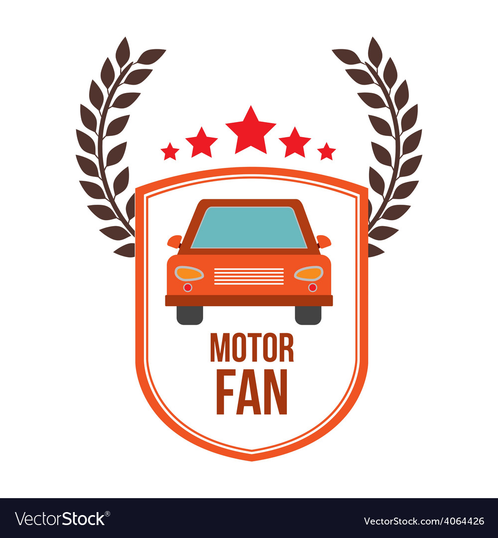 Motor fan design vector | Price: 1 Credit (USD $1)
