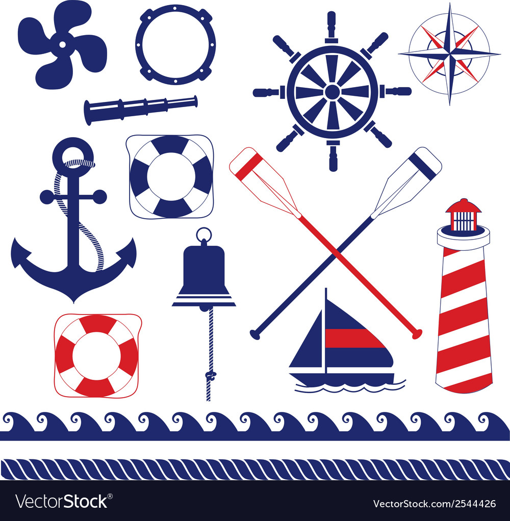 Nautical equipment vector | Price: 1 Credit (USD $1)
