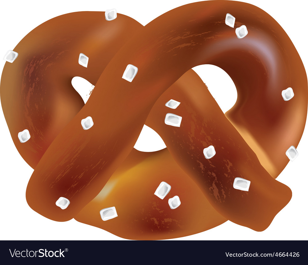 Soft bavarian pretzels objects vector   Price: 1 Credit (USD $1)