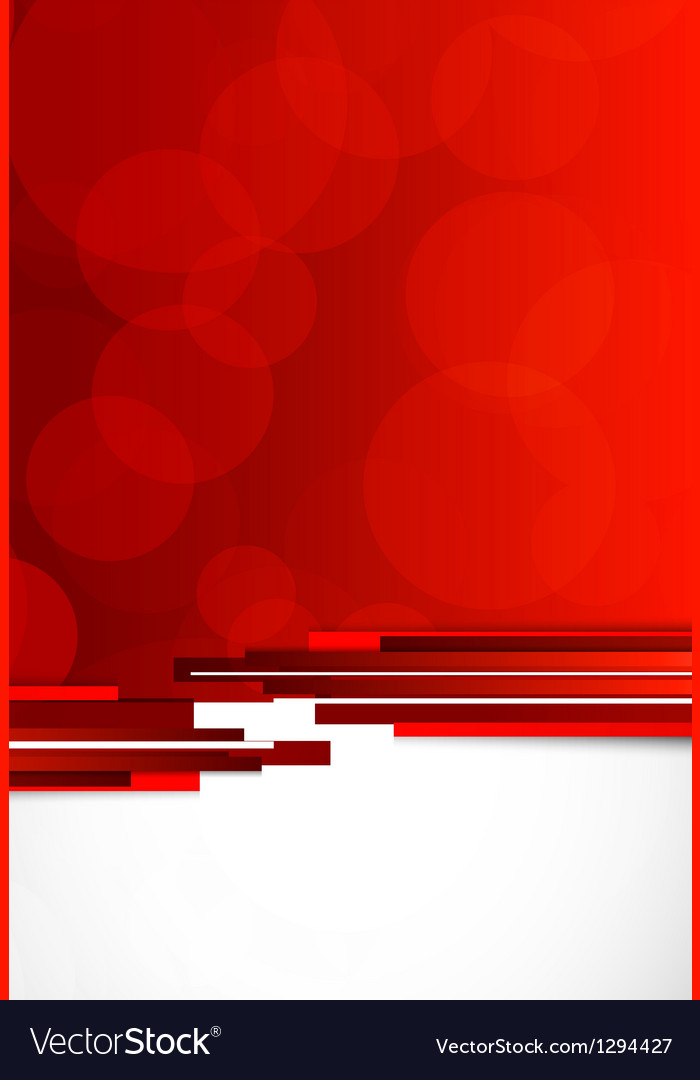 Abstract background in red color vector | Price: 1 Credit (USD $1)