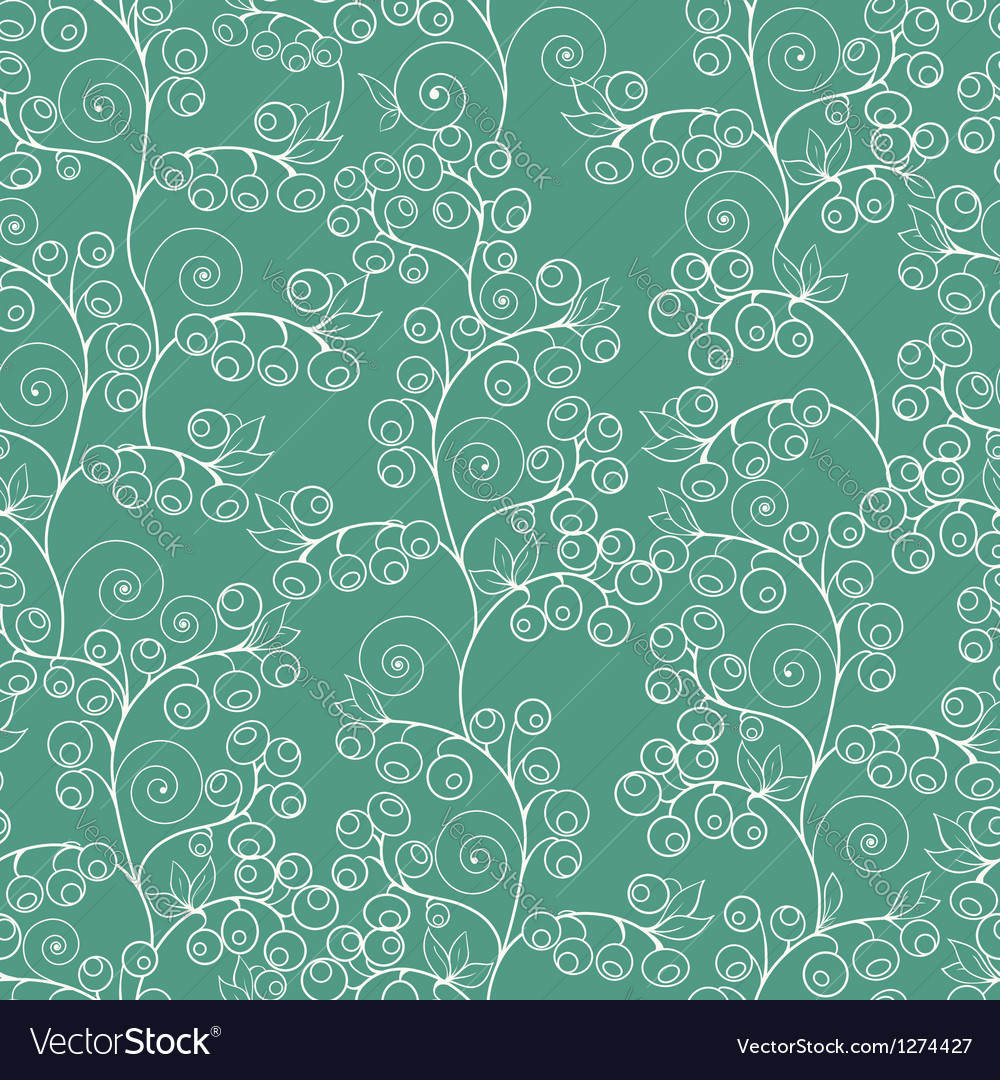 Abstract floral seamless pattern vector | Price: 1 Credit (USD $1)