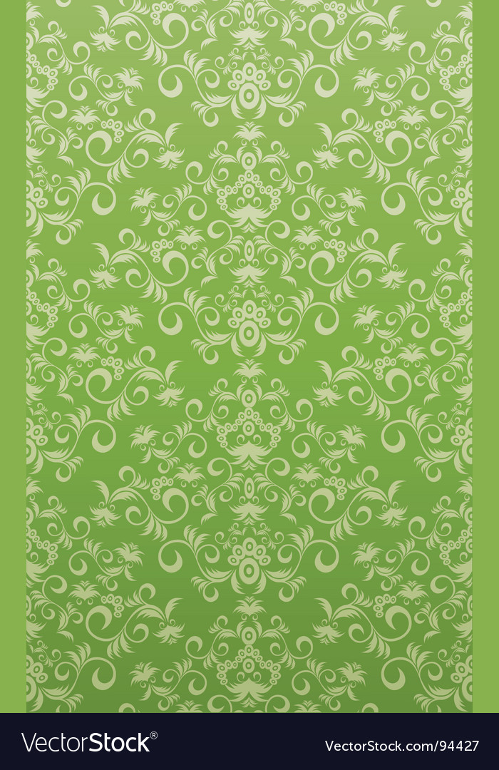 Decorative seamless floral ornament vector | Price: 1 Credit (USD $1)