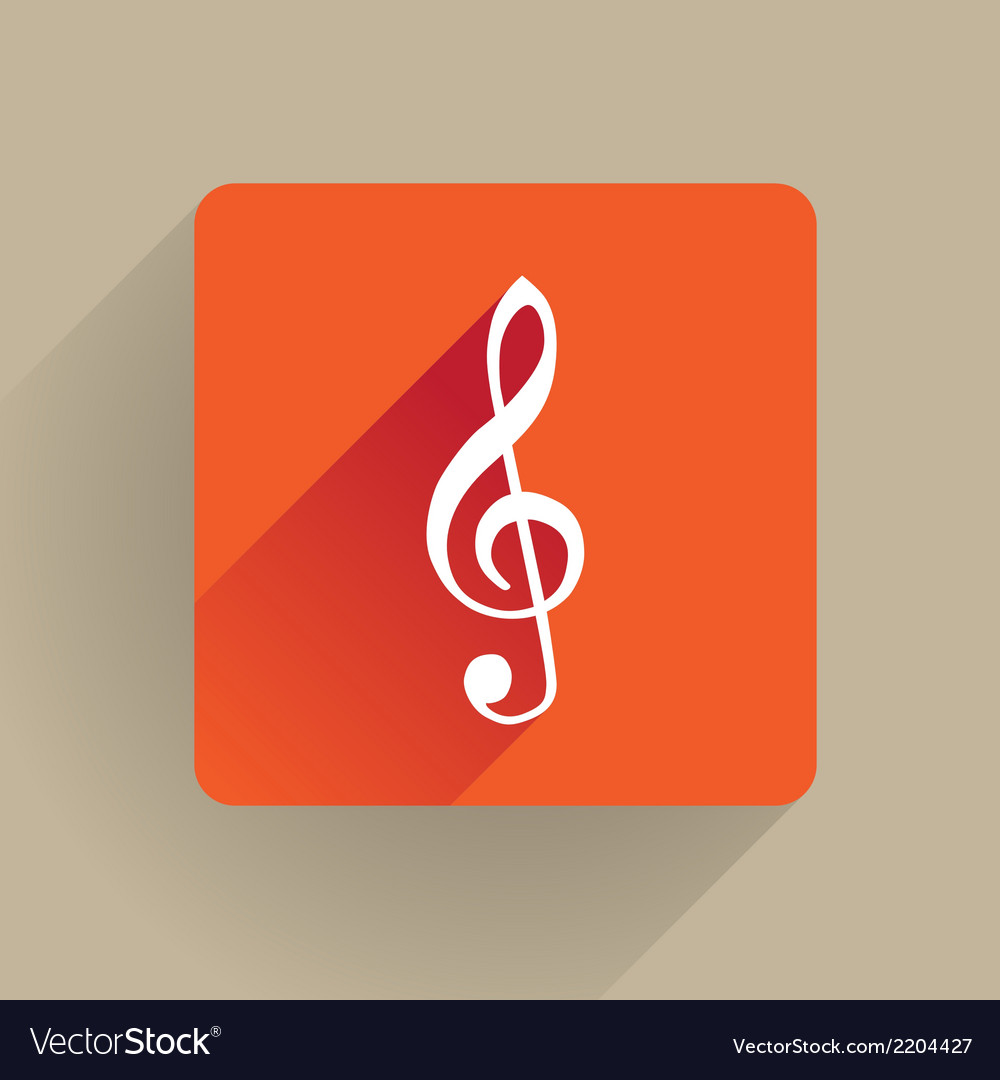 G clef vector | Price: 1 Credit (USD $1)