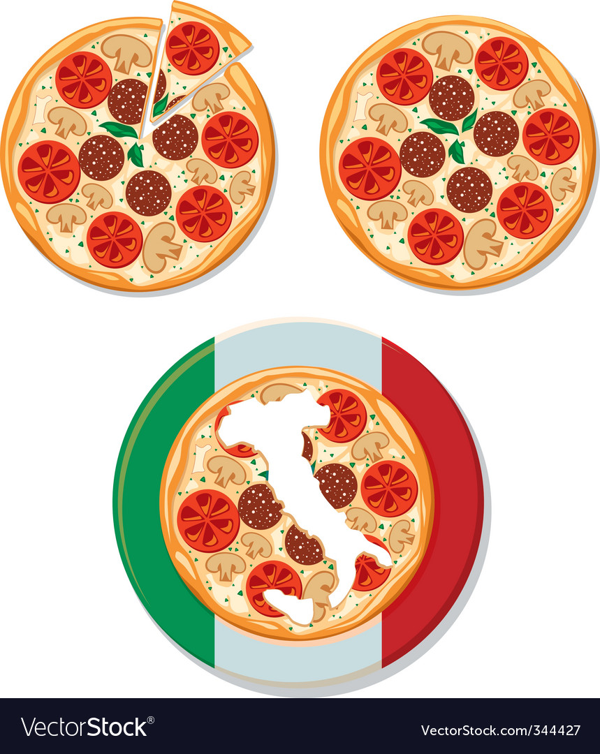 Pizza italian vector | Price: 1 Credit (USD $1)