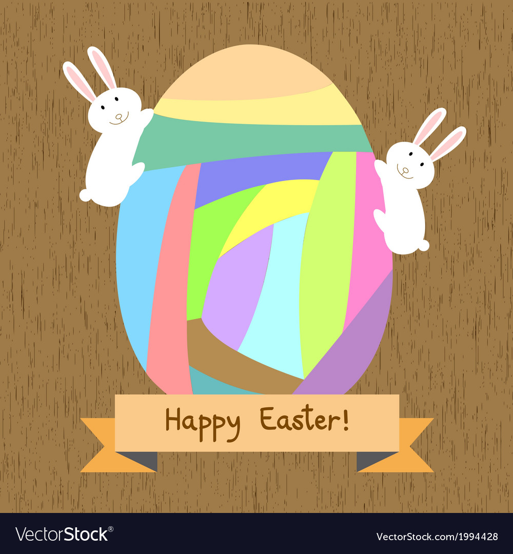Happy easter7 vector | Price: 1 Credit (USD $1)