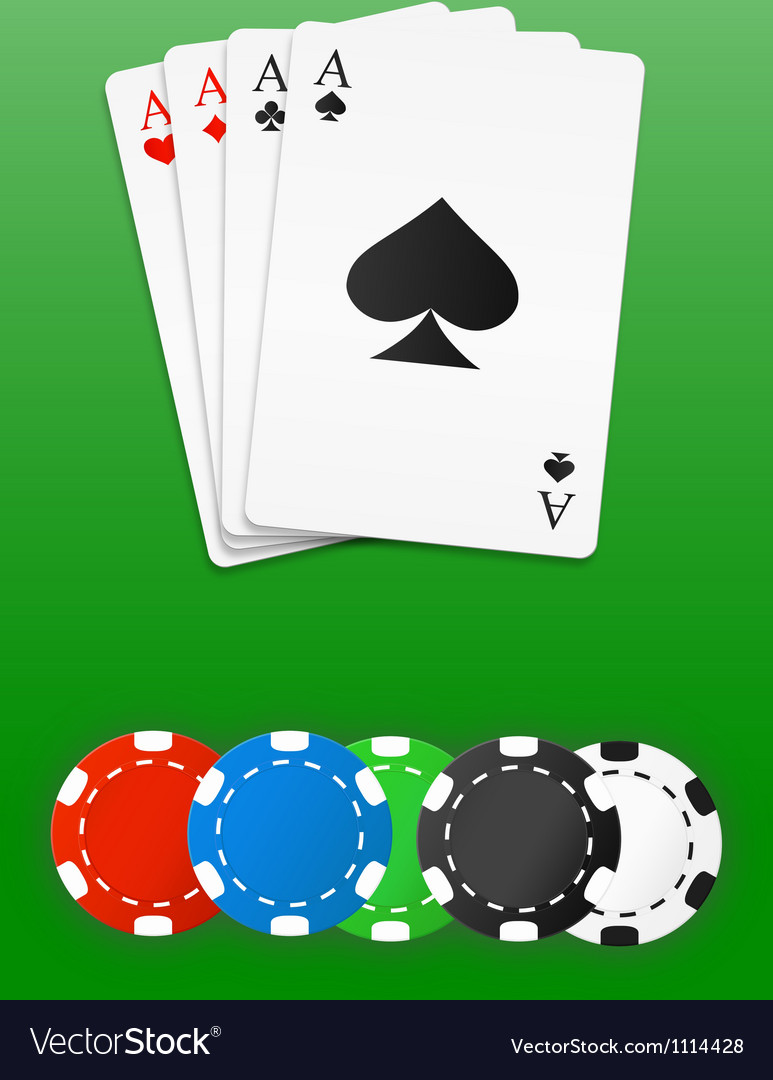 Poker chips and cards vector | Price: 1 Credit (USD $1)
