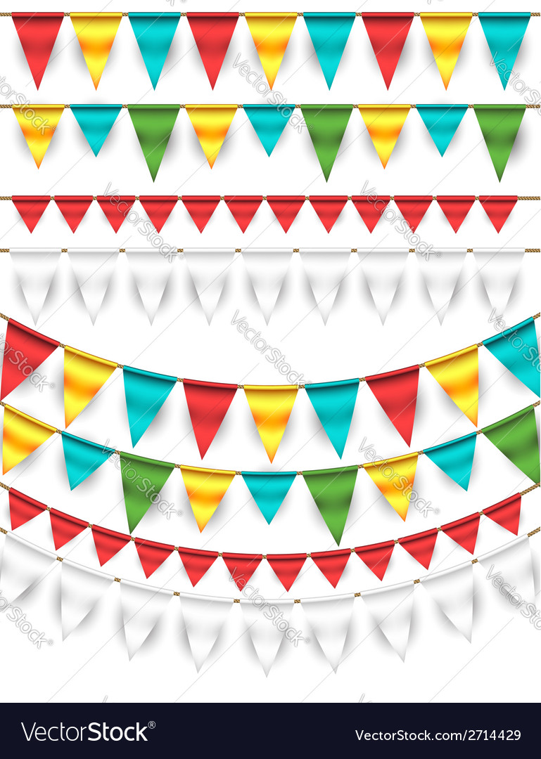 Buntings - garlands vector | Price: 1 Credit (USD $1)