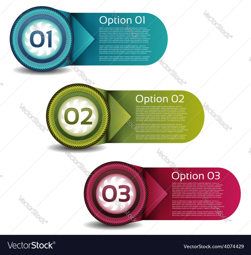 Progress background product choice or version vector   Price: 1 Credit (USD $1)