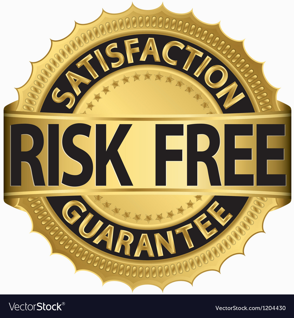 Risk free satifaction guarantee vector | Price: 1 Credit (USD $1)
