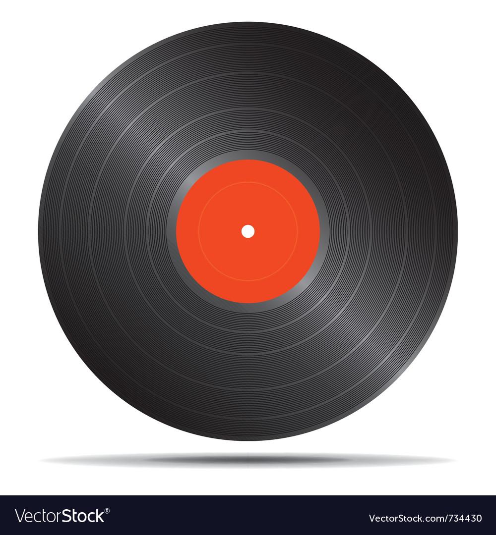 Vinyl icon vector   Price: 1 Credit (USD $1)