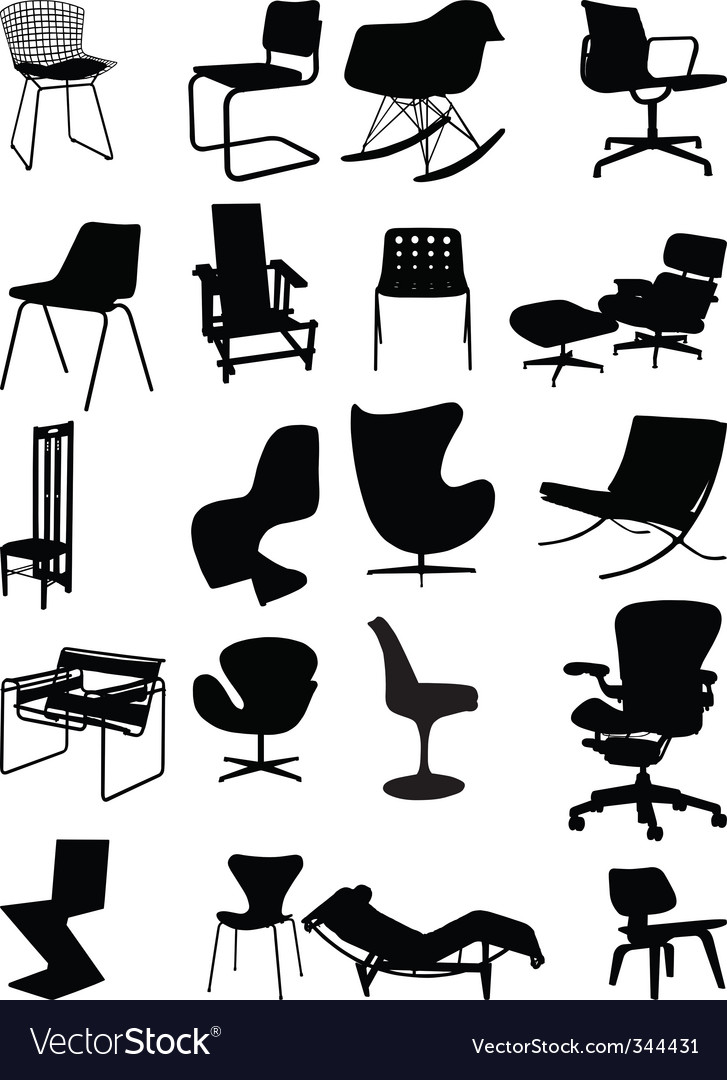 Classic chairs vector | Price: 1 Credit (USD $1)